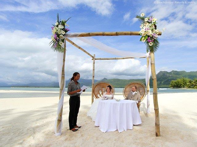 beachcomber-wedding - Hochzeit auf Mauritius