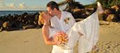 Heiraten am Strand im Castello Beach Hotel