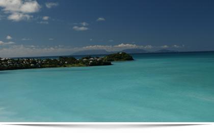 Hochzeit oder Flitterwochen in der Karibik